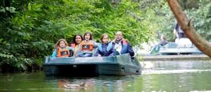 Center Parcs Erperheide waterfietsen