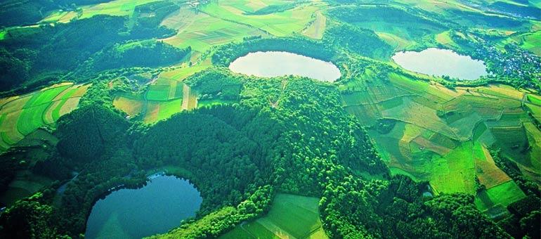Center Parcs Park Eifel omgeving natuur