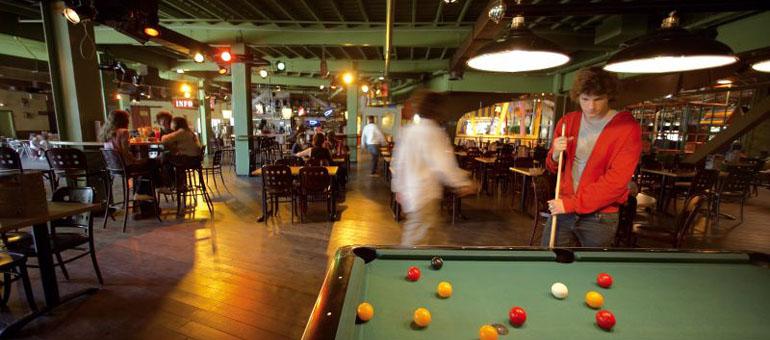Center Parcs Les Hauts de Bruyères Factory Café