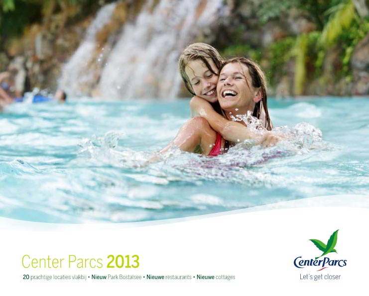 Center Parcs brochure aanvragen