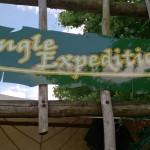 Het Heijderbos Jungle Dome ingang