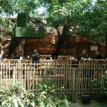 Het Heijderbos Jungle Dome terras
