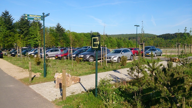 Center Parcs Bostalsee parking